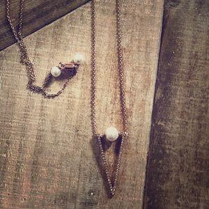 Chloe + Isabel Pendant Rose gold necklace